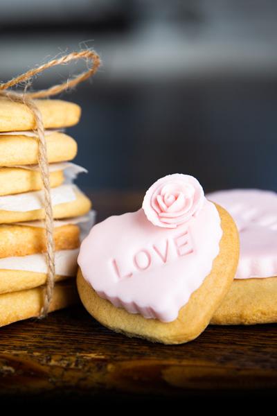 Mariages - biscuits cadeaux invités personnalisés
