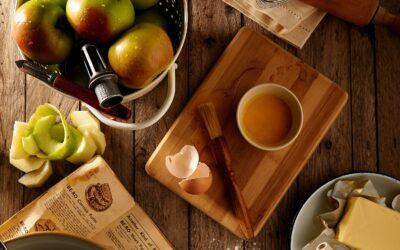 Délicieuse tourte aux pommes et à la cannelle